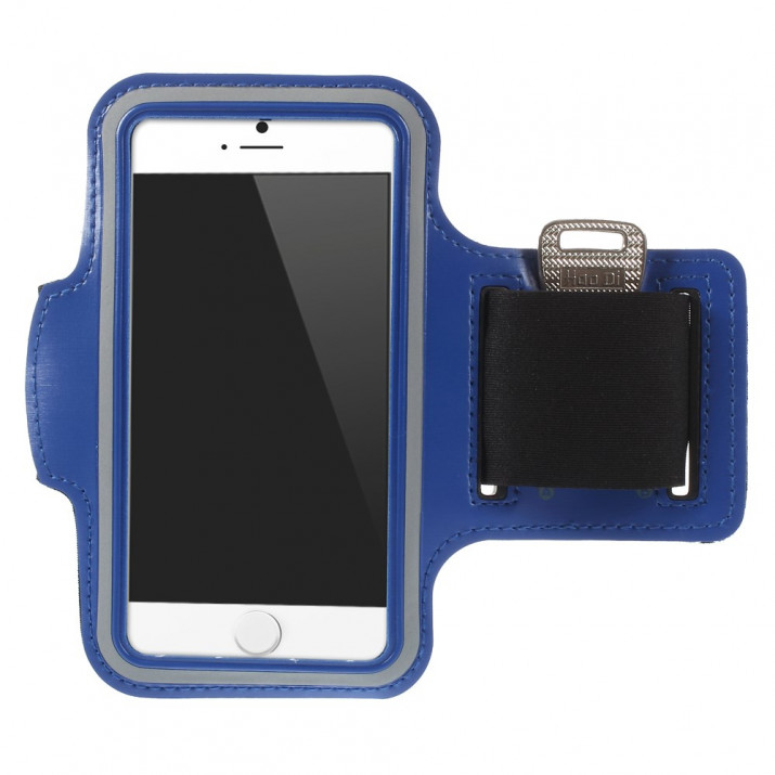 Brassard iPHONE 6 4,7 sport Bleu Néoprène ULTRAconfortable
