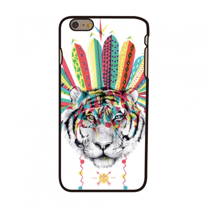 Coque IPHONE 6 PLUS dessin Fantaisie TIGER