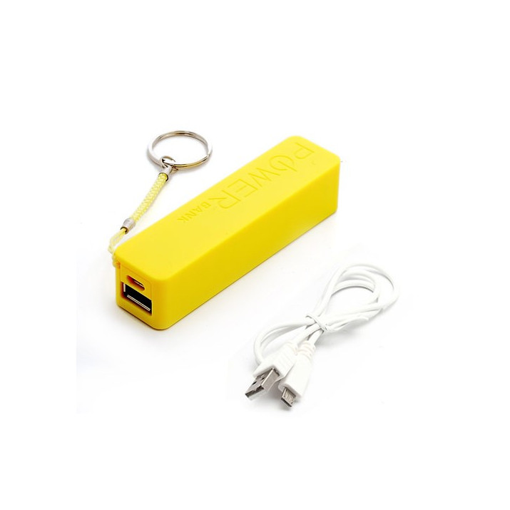 Batterie externe 2600mAh pour iPhone 5/5S et 5C PowerBank JAUNE