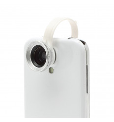 Objectif amovible Grand Angle avec effet Macro pour iPhone Samsung HTC LG Nokia Sony