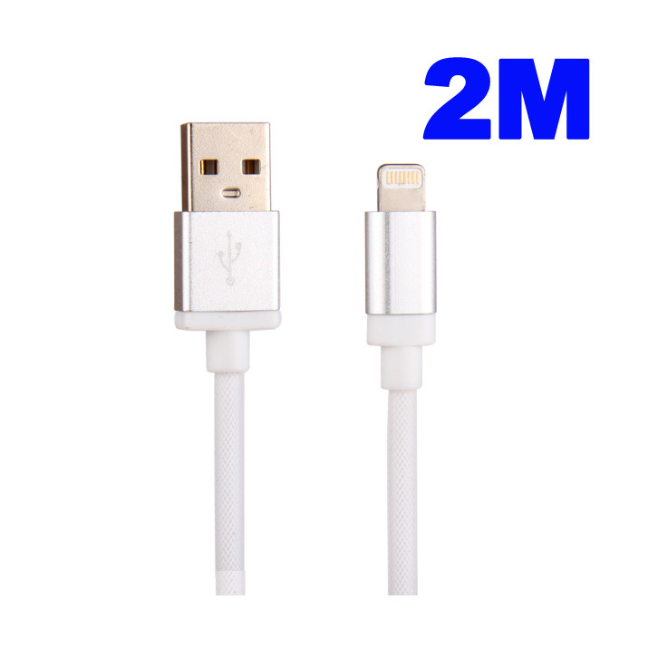 Cable 2M Data et Charge USB-Dock pour IPHONE 5S