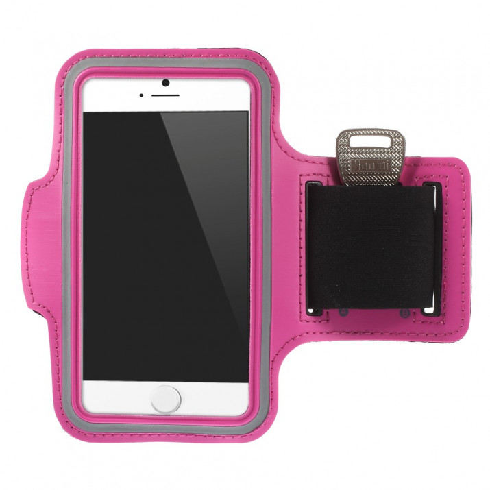 Brassard iPHONE 6S sport ROSE Néoprène ULTRA confortable