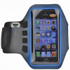 Brassard sport running iPhone SE bleu neoprene