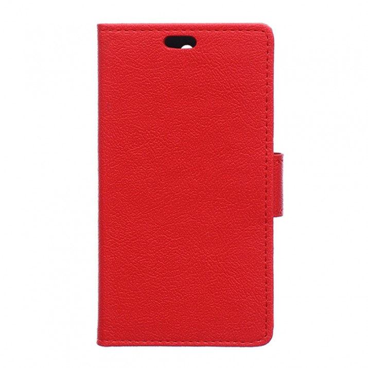 Housse pour Sony Xperia X rouge portefeuille