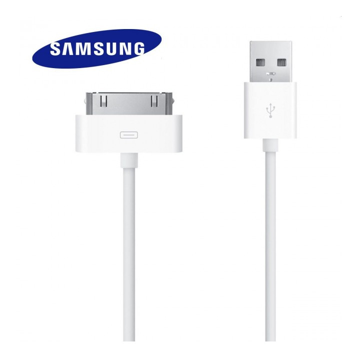 Cable Samsung pour tablettes Galaxy ECB-DP4AWE blanc