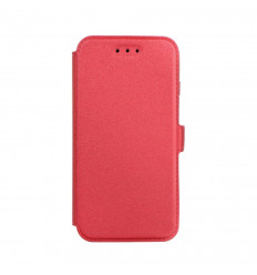 Housse portefeuille rouge pour iPhone 8 ultra fine