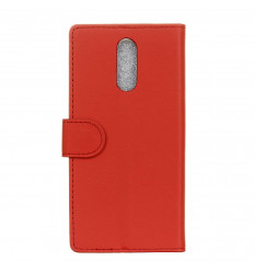 Housse pour OnePlus 6T Portefeuille ROUGE