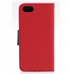 Housse pour Huawei Y5 2018 Rouge portefeuille