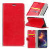 Housse Wiko View 2 GO Portefeuille ROUGE