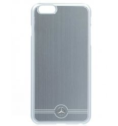 Coque Mercedes-Benz aluminium gris iPhone 6 Plus / 6S Plus